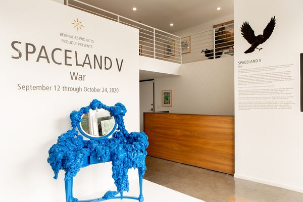 SPACELAND V | War (Group Exhibition), Bermudez Projects (3 of 3)