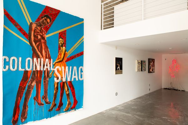 SPACELAND V | War (Group Exhibition), Bermudez Projects (2 of 3)