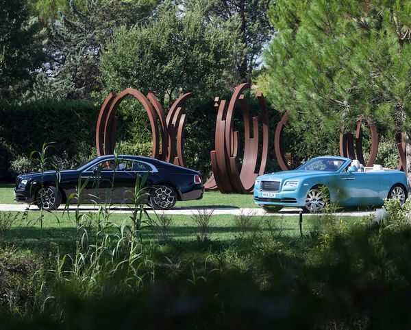 ROLLS ROYCE Art Drive 2016 with BOCCARA ART