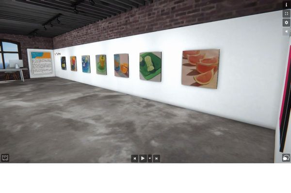 Painting Color (Group Exhibition), Bougie Art Gallery (4 of 4)