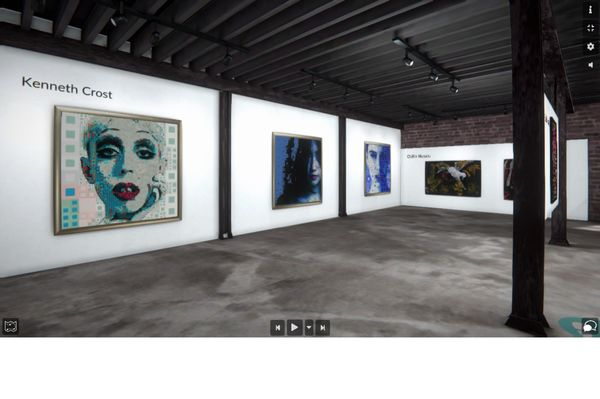 Painting Color (Group Exhibition), Bougie Art Gallery