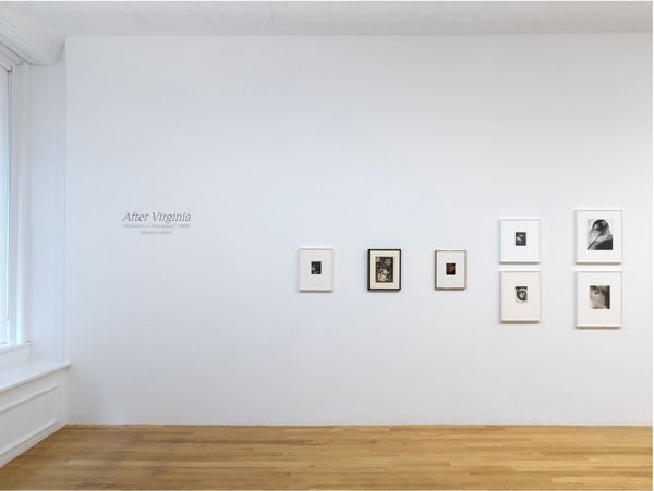 After Virginia (Group Exhibition), Chart Gallery