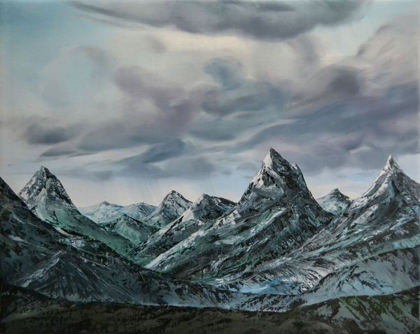 Untitled (Mountainscape)