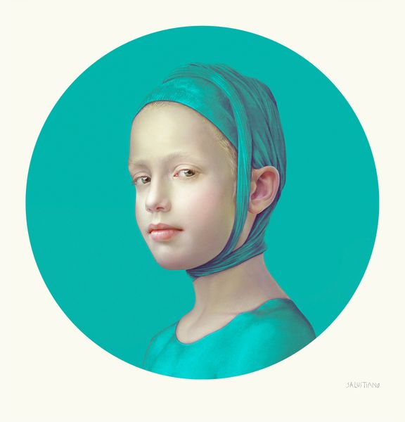 June Turquoise I by Salustiano, Lucía Mendoza