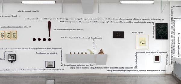 'Dot, Point, Period' (Group Exhibition), Castelli Gallery | 24 West 40th Street (2 of 5)