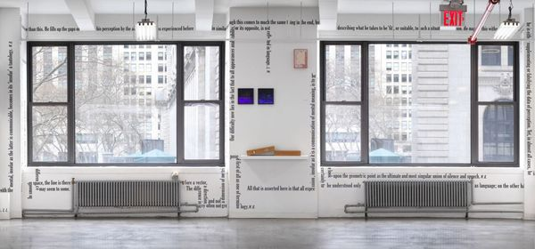 'Dot, Point, Period' (Group Exhibition), Castelli Gallery | 24 West 40th Street (3 of 5)
