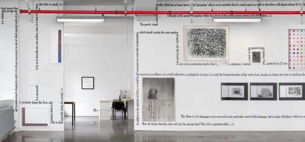 'Dot, Point, Period' (Group Exhibition), Castelli Gallery | 24 West 40th Street (4 of 5)