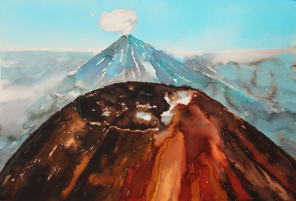 Old End New Volcanos