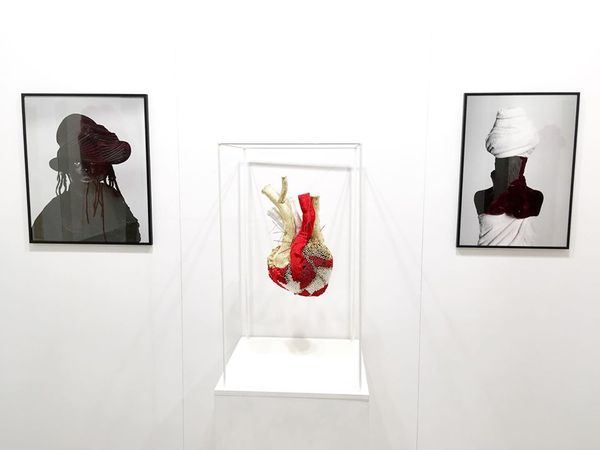 Paper Positions Frankfurt (Group Exhibition), Sakhile&Me (2 of 6)