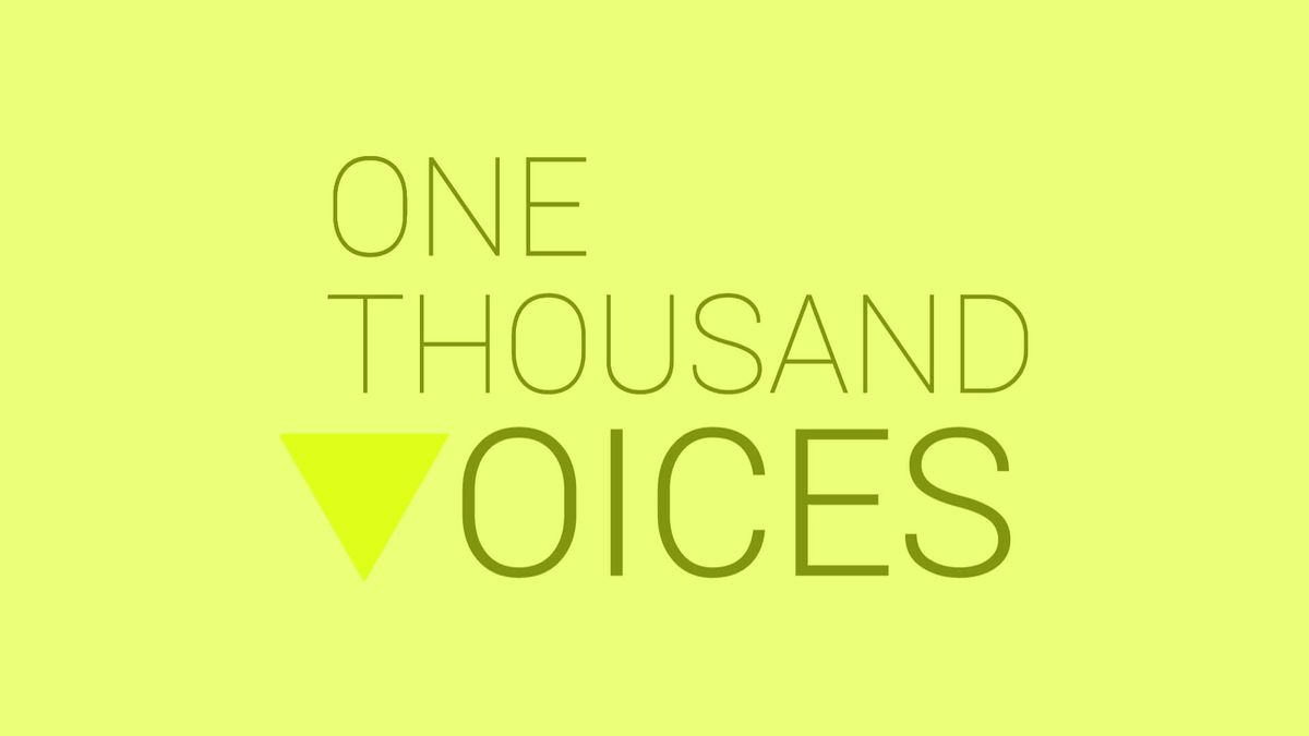 """One Thousand Voices"" (Educational version)"