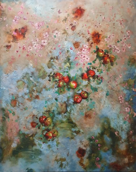 Apples, Blossom and Butterfly