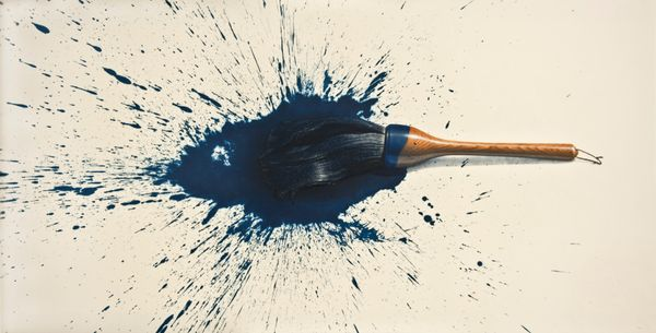Lee Jungwoong: Brush and Blue Abstraction