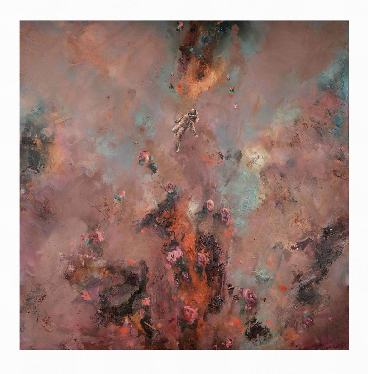 Chris Rivers | Planets | 2020 | Limited Edition Print on Canson Arches Aquarelle Rag | 90 x 90 cm | Edition of 75
