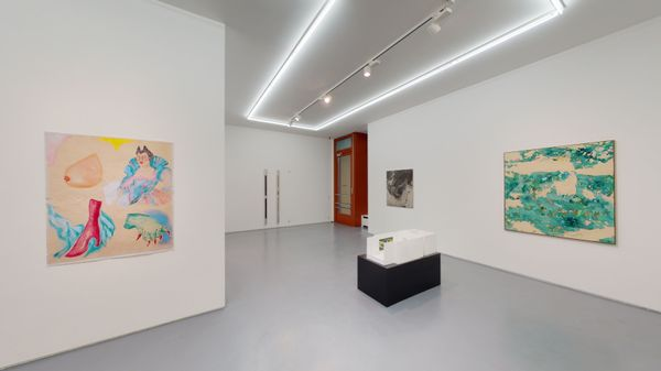 Assisted Survival (Group Exhibition), MOUNTAINS (3 of 5)
