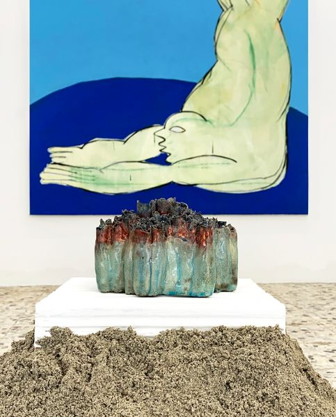 The Great Ocean Continuously Creating, Object B by Habima Fuchs, G/ART/EN (2 of 3)