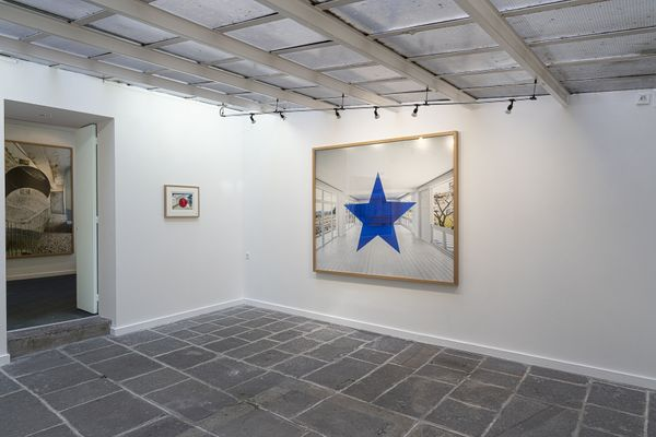 Photographies et dessins by Georges Rousse, Galerie Claire Gastaud (2 of 3)