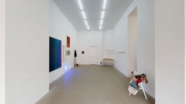 DUE TO — NOT SO A WHITE CUBE #18 (Group Exhibition), LAGE EGAL (3 of 6)
