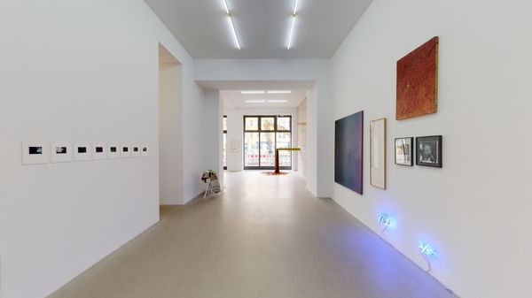 DUE TO — NOT SO A WHITE CUBE #18 (Group Exhibition), LAGE EGAL (4 of 6)