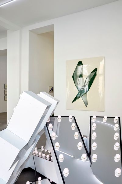 ASTRID KÖPPE, LUKAS TROBERG — NOT SO A WHITE CUBE #8 (Group Exhibition), LAGE EGAL (6 of 7)