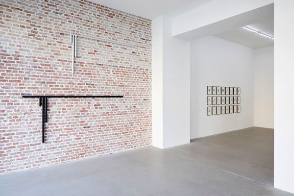 ASTRID KÖPPE, LUKAS TROBERG — NOT SO A WHITE CUBE #8 (Group Exhibition), LAGE EGAL (3 of 7)