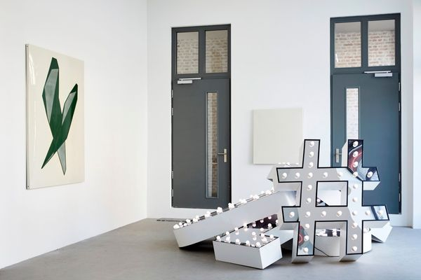 ASTRID KÖPPE, LUKAS TROBERG — NOT SO A WHITE CUBE #8 (Group Exhibition), LAGE EGAL (7 of 7)