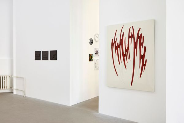ASTRID KÖPPE, LUKAS TROBERG — NOT SO A WHITE CUBE #8 (Group Exhibition), LAGE EGAL