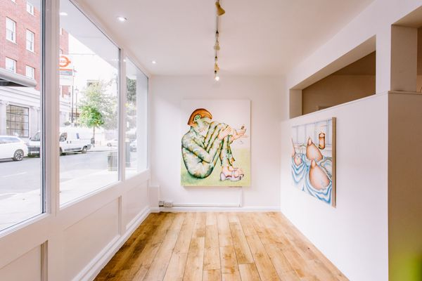 Comic Tendencies (Group Exhibition), Eve Leibe Gallery (6 of 8)