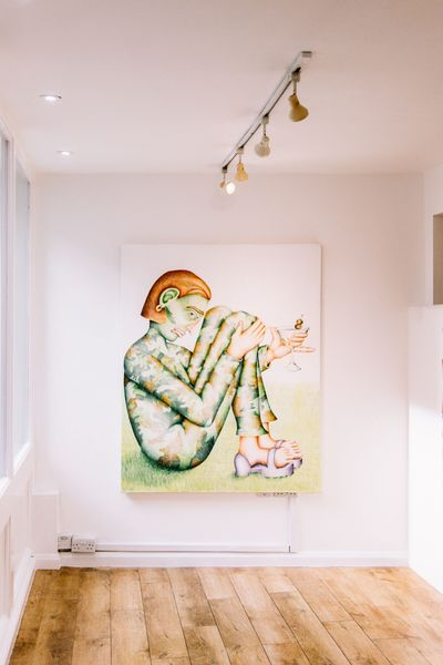Comic Tendencies (Group Exhibition), Eve Leibe Gallery (7 of 8)