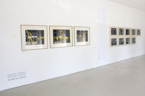 35 years together (Group Exhibition), Meno Parkas