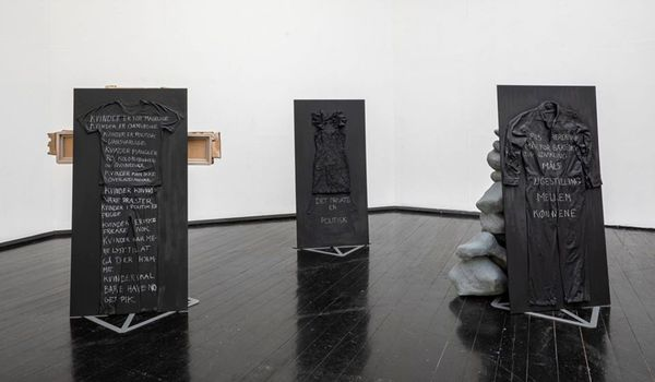 Writings of Bodies <<<We Know It From the Inside>>> (Group Exhibition), Den Frie (2 of 4)