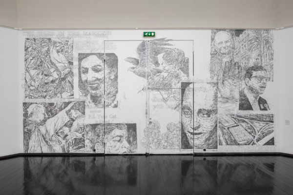 Drawing Attention (Group Exhibition), Den Frie