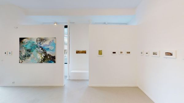 Solo Exhibition by Nora Douady, Galerie Felli (2 of 3)