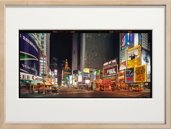 LANDSTATES - New York Times Square by Max Farina, Cabiria Art Gallery