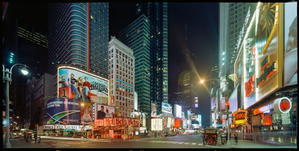 LANDSTATES - New York Times Square by Max Farina, Cabiria Art Gallery (2 of 2)