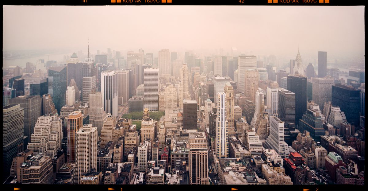 LANDSTATES - New York from Empire State Building by Max Farina, Cabiria Art Gallery (2 of 2)