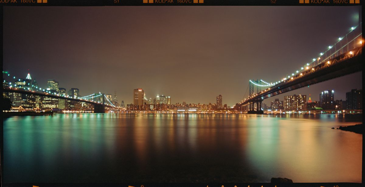 LANDSTATES - New York Brooklyn and Manhattan Bridge by Max Farina, Cabiria Art Gallery (2 of 2)
