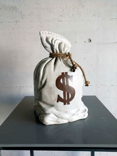 Money is nothing by Beppe Borella, Cabiria Art Gallery