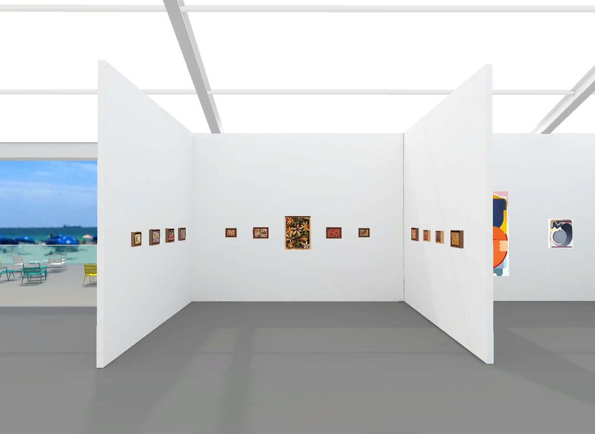 Booth A8 : Charles Moffett Gallery